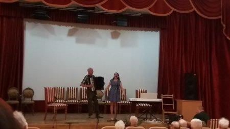Концерт учителей ДМШИ №10 для ветеранов